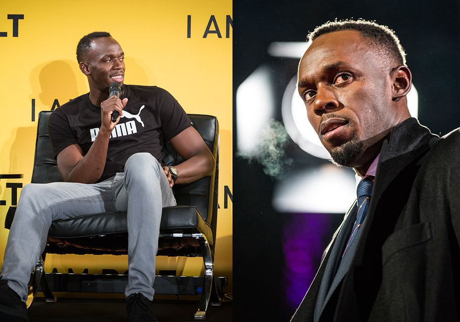 Usain Bolt I AM BOLT press conference UK Premiere Bolt read carpet StillMoving