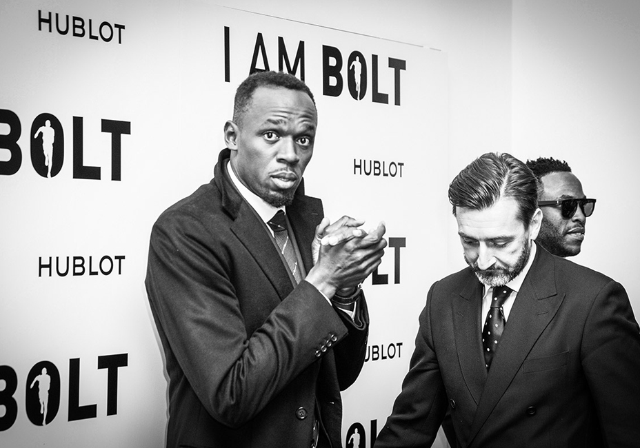 Usain Bolt I AM BOLT UK Premiere B&W black and white documentary StillMoving