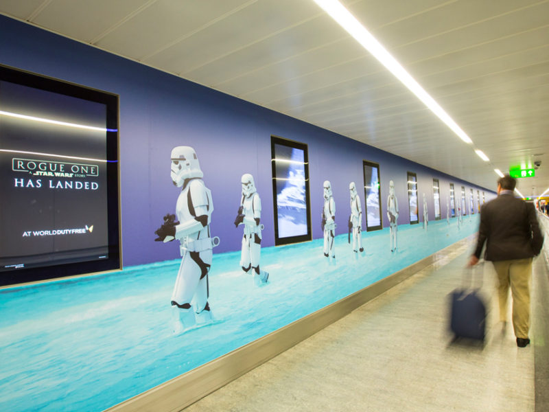 ROGUE ONE AT GATWICK