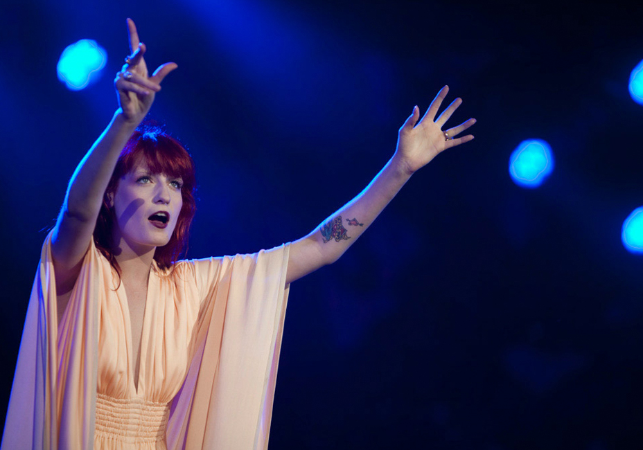 Florence And The Machine Isle Of White Festival live performance StillMoving