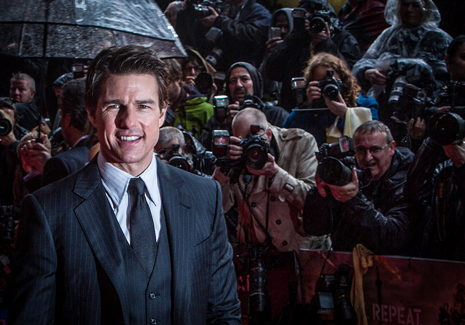 Tom Cruise Edge Of Tomorrow UK Premiere StillMoving