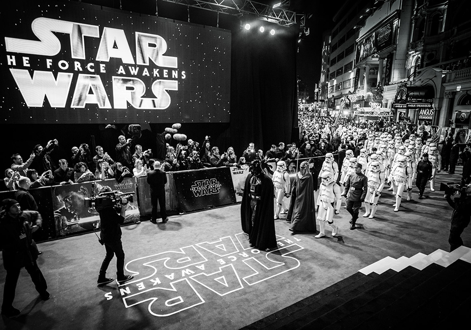 Star Wars The Force Awakens Disney Premiere Leicester Square