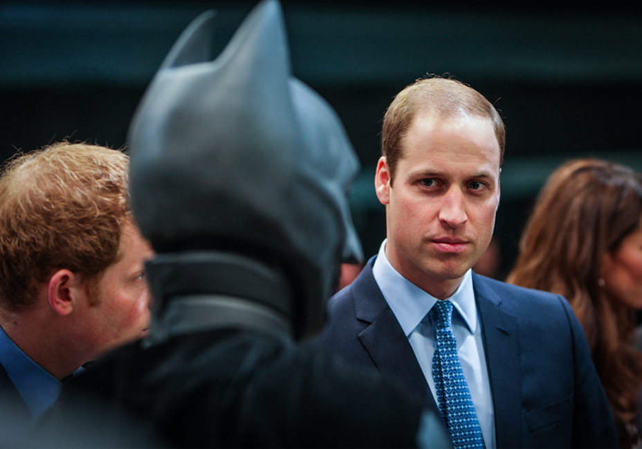 Prince William Batman Warner