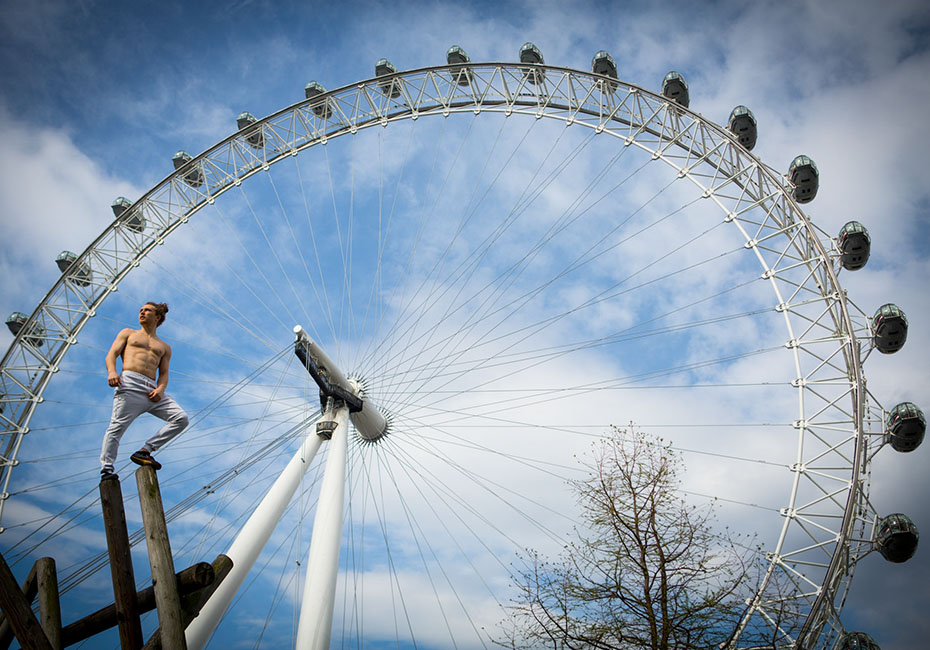 parkour london eye tim shieff