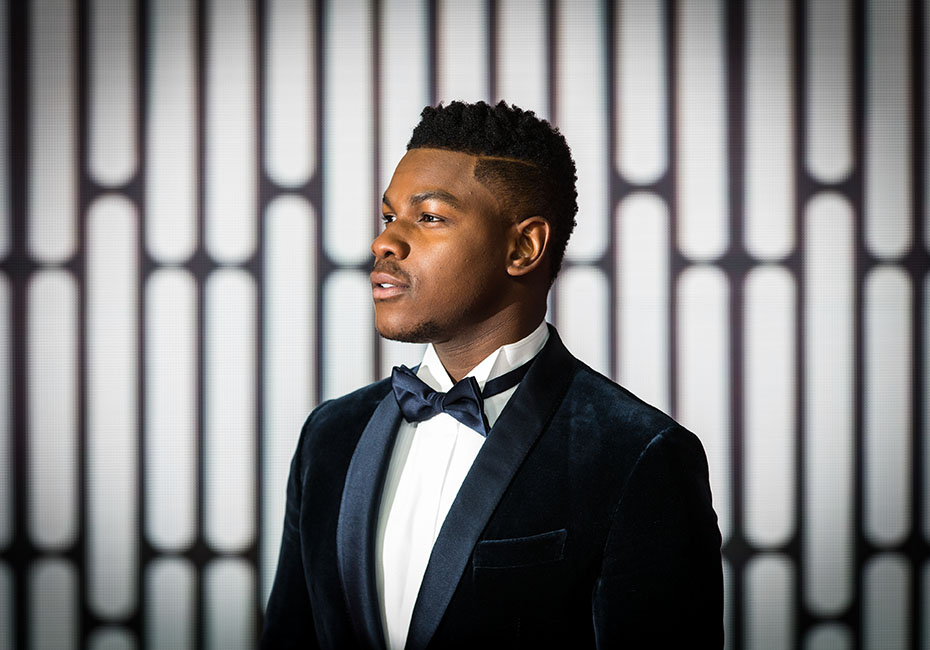 john boyega at star wars premiere
