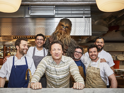CHEWBACCA PRESS DAY